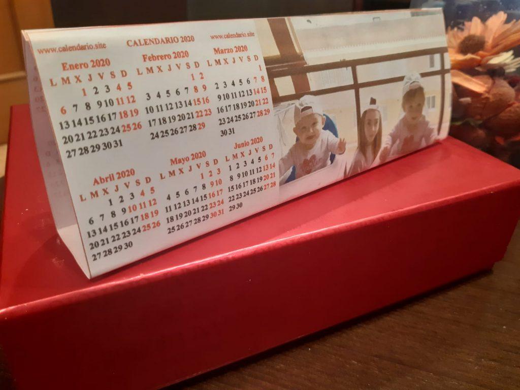 Calendario personalizado anual