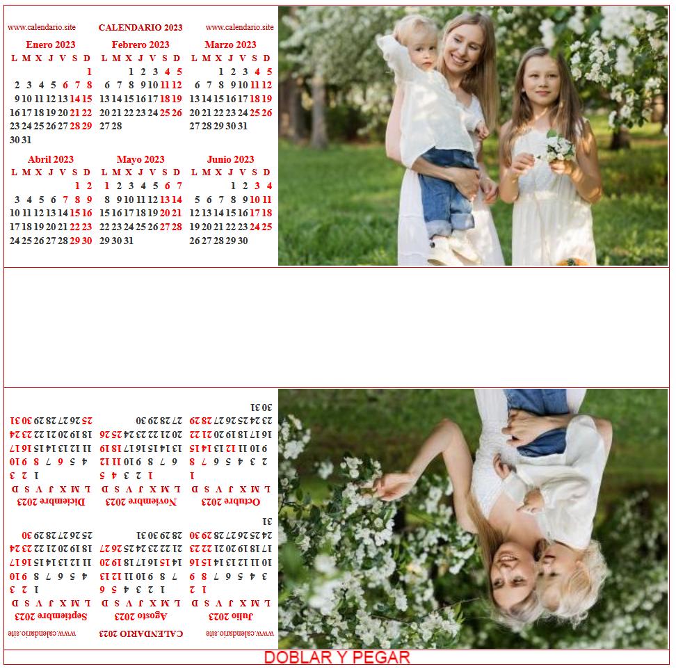 Calendario personalizado anual prisma