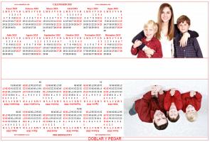 Calendario bianual personalizado