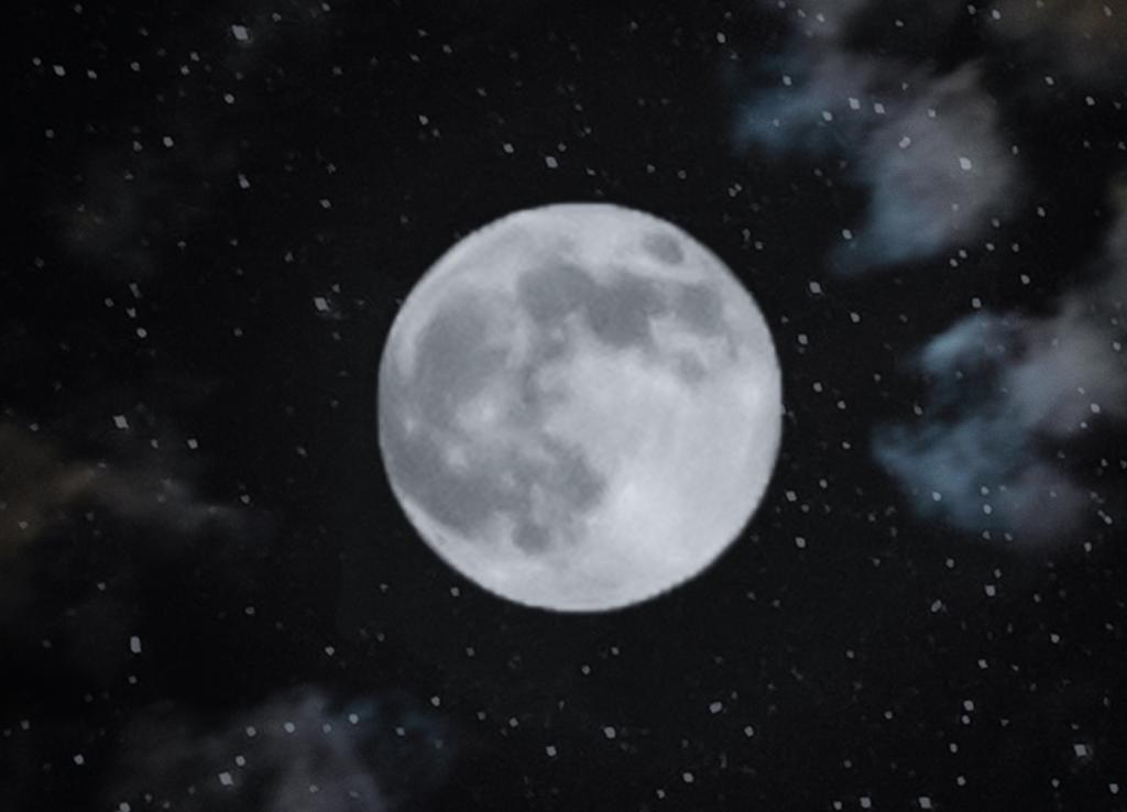 Superluna. Viendo la fase lunar hoy también te informamos de las próximas Superlunas.